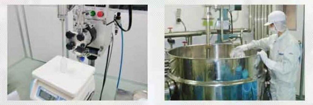 潤静は国内工場で生産