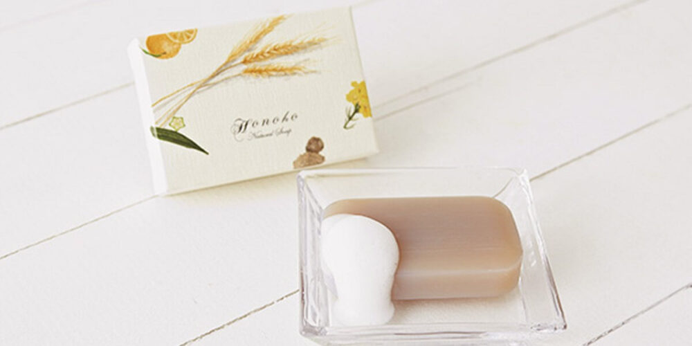 ホノホ(honoho)石鹸の使い方