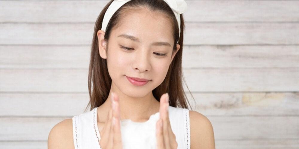 女性の洗顔の乾燥対策