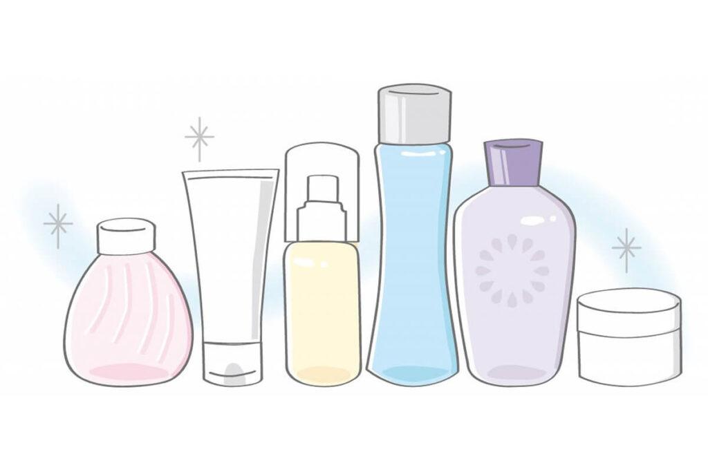 敏感肌の原因、合わない化粧品