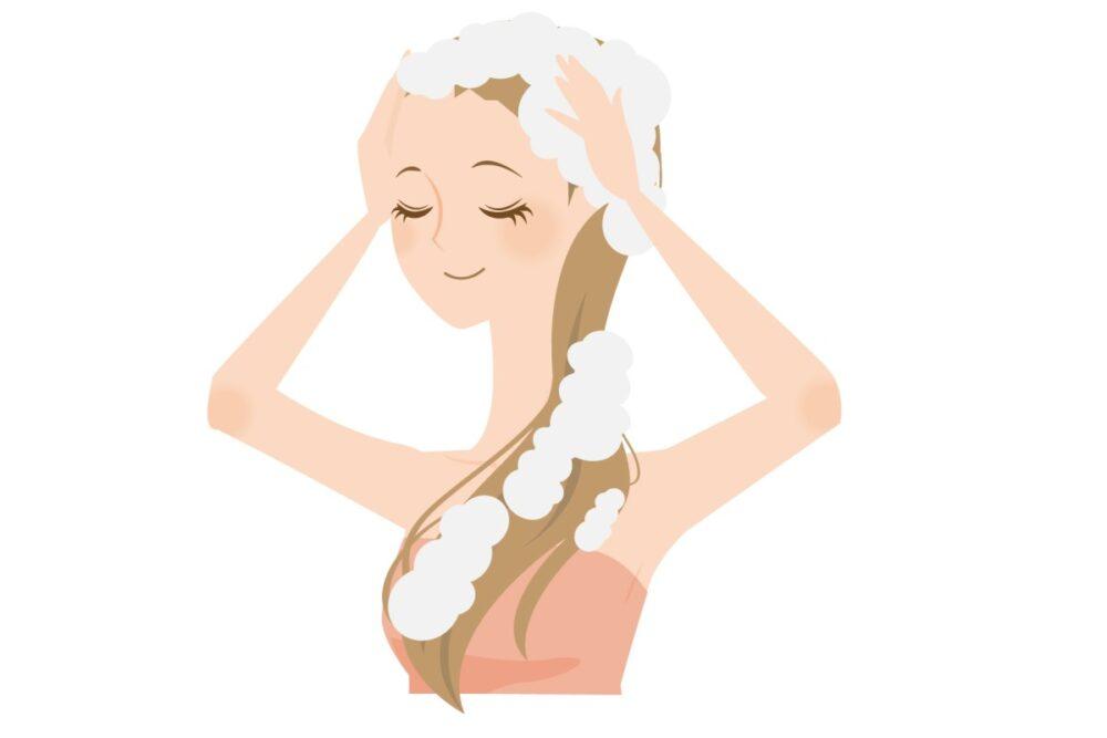 ホノホ(honoho)石鹸で洗髪